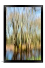 The Tree Rush, Framed Print
