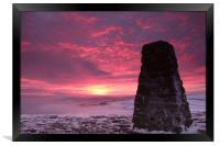 Blissful Dawn , Framed Print
