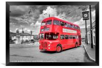Midland Red bus, Framed Print