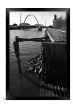 River Clyde, Framed Print