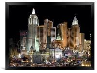 New York, New York, Framed Print
