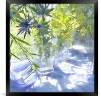 Blue Light , Framed Print
