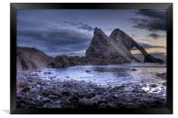 Bow Fiddle Rock, Framed Print