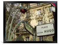 Victor Hugo , Framed Print