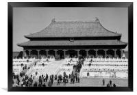 Forbidden City Beijing China, Framed Print