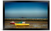 Herne Bay old pier Kent , Framed Print