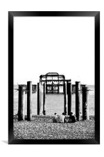 West Pier Brighton, Framed Print