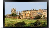 Whitby Abbey, Framed Print