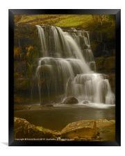 East Gill Upper Falls, Framed Print