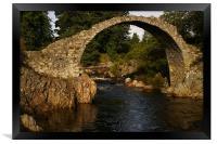 Carr-Bridge, Framed Print