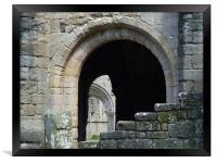 Abbey Arch , Framed Print