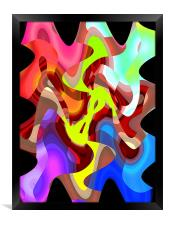Abstract Graphics, Framed Print