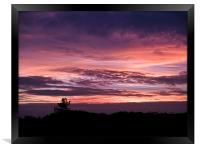 Norfolk Sunset - 2, Framed Print