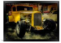 1932 Ford Hot Rod, Framed Print