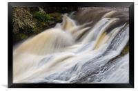 Cascade Above Mashel Falls, Washington State, Framed Print