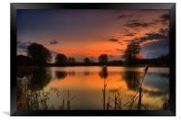 My Sundown, Framed Print
