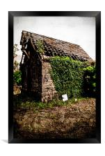 Standing the test of time (Old Church), Framed Print