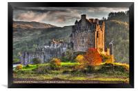 Castle Eilean Donan, Framed Print