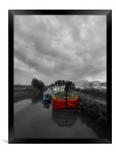 Sequana   Beverley Canal, Framed Print