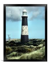 Spurn Point Lighthouse, Framed Print