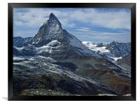 The Matterhorn, Framed Print