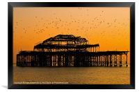 Brighton Pier, Framed Print