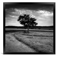 Odenwald, Framed Print