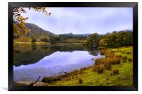 Autumn by Grasmere in the Lake District, Framed Print