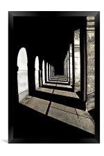 Light and Dark, Framed Print