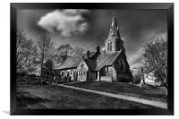 HOLY TRINITY CHURCH, EDALE 2011, Framed Print