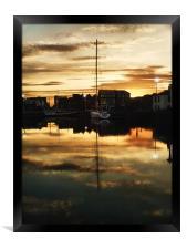 maritime bedtime, Framed Print