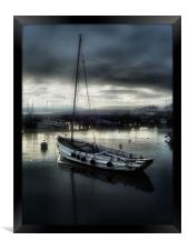 harbour nights, Framed Print