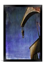 The Steam Crane, Framed Print