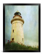 Paphos Lighthouse, Cyprus, Framed Print
