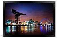 The Clyde Arc, Framed Print