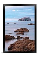 The Bass Rock, Framed Print