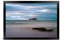 The Bass Rock from Seacliff, Framed Print