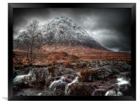 The Mood Of Winter, Scotland, Framed Print