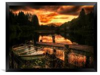 Loch Ard, Scotland, Framed Print