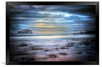 Bass Rock North Berwick, Framed Print