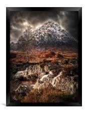The Buachaille Glen Coe, Framed Print