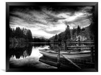 Loch Ard Scotland, Framed Print