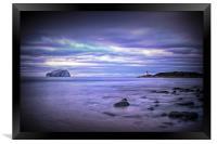 Bass Rock Scotland, Framed Print