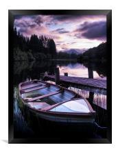 Loch Ard Summers Evening., Framed Print