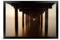 Southwold Pier Point, Framed Print