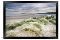 Holkham Sand Dunes, Framed Print