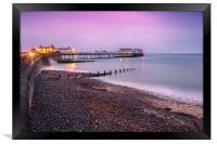 Dawn at Cromer Pier, Framed Print