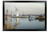 Thurne Mill, Framed Print