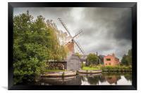 Hunsett Mill on the River Ant, Framed Print