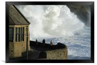 Big Wave, Framed Print